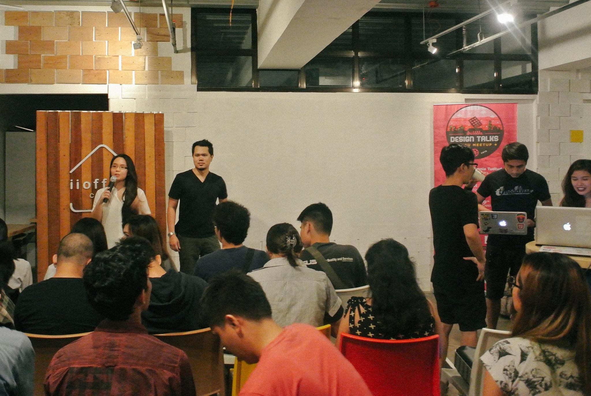 Dribbble Cebu Meetup 2 at iioffice CEBU