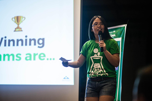 Ashley Uy Startup Weekend Bohol 2017