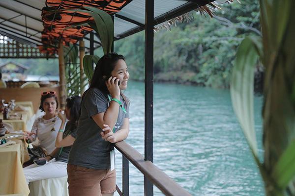 Ashley Uy Calling her mom in TS APAC Summit 2016