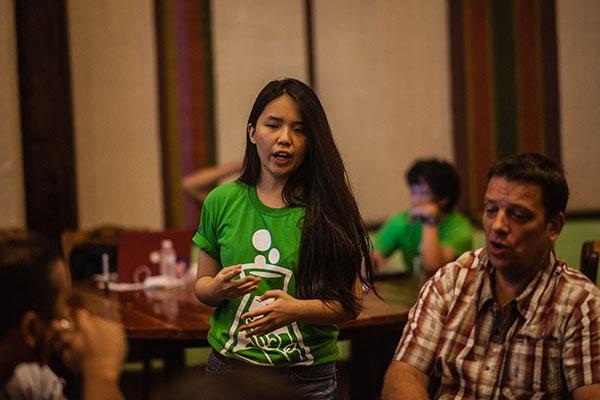 Ashley Uy in Startup Weekend Bohol Tourism 2018