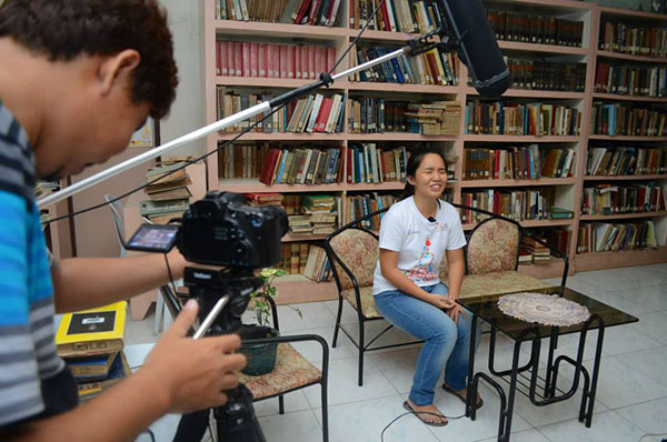 Ashley Uy in Startup Weekend Bohol 2016 Cringe Interview
